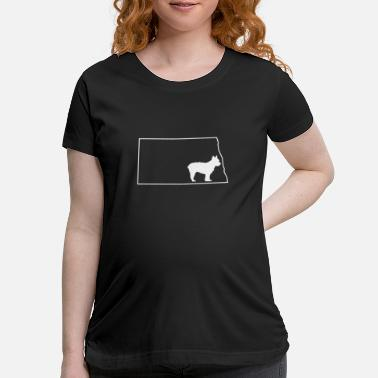 North Yorkshire Yorkie Yorkshire Terrier North Dakota Dog Shirt - Maternity T-Shirt