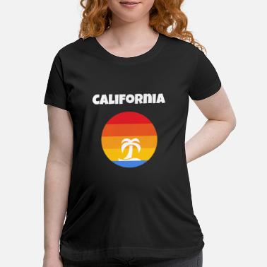 California Tropical Sunshine - Maternity T-Shirt