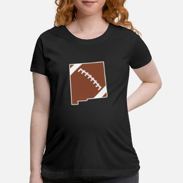 Football New Mexico Fun Football Lover Gift - Maternity T-Shirt