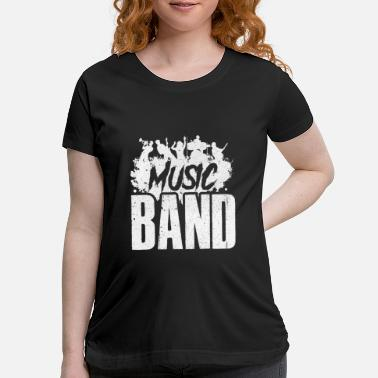 Bandiera Music Band - Maternity T-Shirt