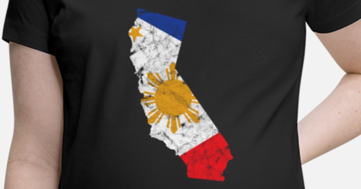 Philippines Kid/'s T-Shirt Country Flag Map Top Children Boys Girls Unisex