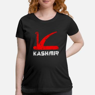 Conflict Free Kashmir Remove Article 370 And Lockdown - - Maternity T-Shirt