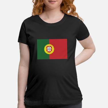 Portugal Flag of Portugal, Portugals flag, flag Portugal - Maternity T-Shirt