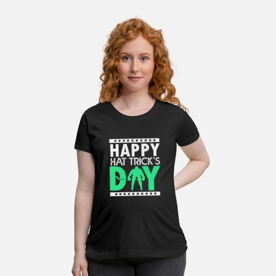 Drinking T-Shirts - Day Drinking Clover Gift - Maternity T-Shirt black