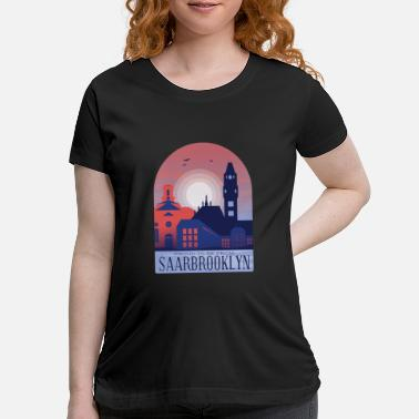 Saarbrücken Saarbrucken City - Maternity T-Shirt