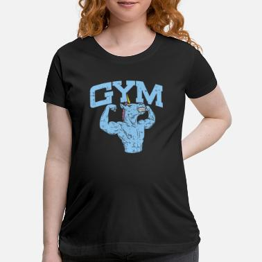 Gym Gym, Gym, Gym - Maternity T-Shirt