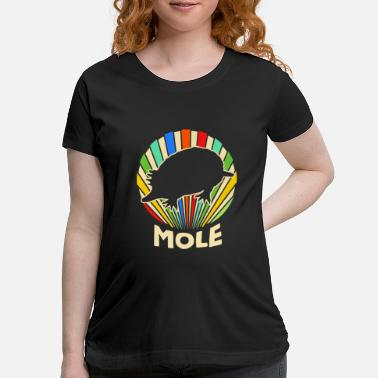 Star Nosed Mole Talpids Desmans Tunnel Digging - Maternity T-Shirt