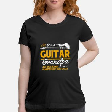 Solo Guitarist Guitar Player Acoustic Instrument Bass - Maternity T-Shirt