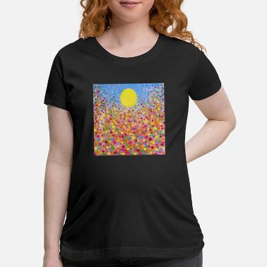 Meadow Wildflower Meadows - Maternity T-Shirt