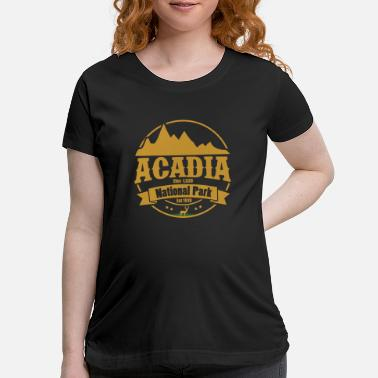 National acadia 1 e.png - Maternity T-Shirt