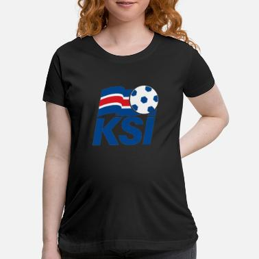 Football Logo Iceland Football logo - Maternity T-Shirt