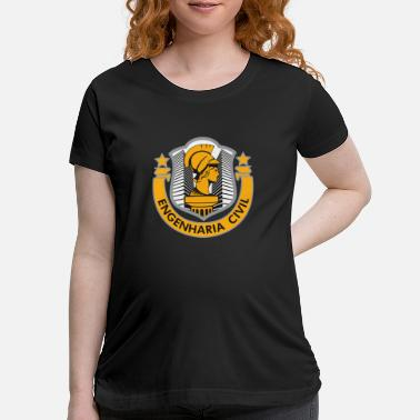 Civilian Service Engenharia Civil - Maternity T-Shirt