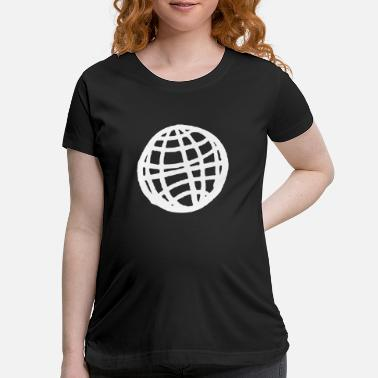 Illustration World Illustration - Maternity T-Shirt
