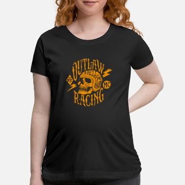 Racing Flags Outlaw Racing - Maternity T-Shirt