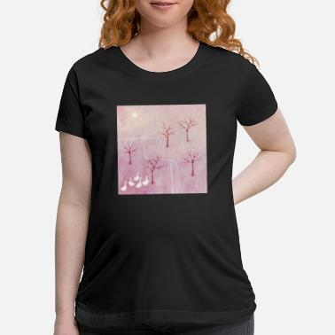 Orchard Geese in the Orchard - Maternity T-Shirt