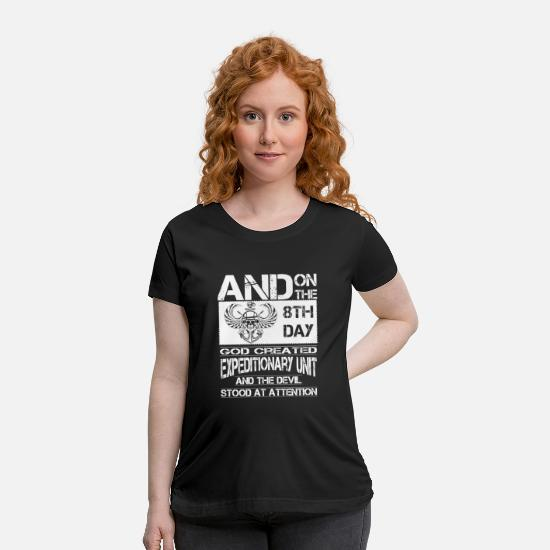 Love T-Shirts - Expeditionary Unit - Maternity T-Shirt black