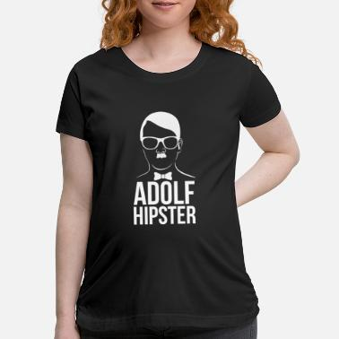 Adolf Hipster - Maternity T-Shirt
