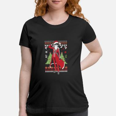 Ugly Christmas sweater for Kirito lover - Maternity T-Shirt