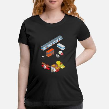 Vehicle Vehicles - Maternity T-Shirt