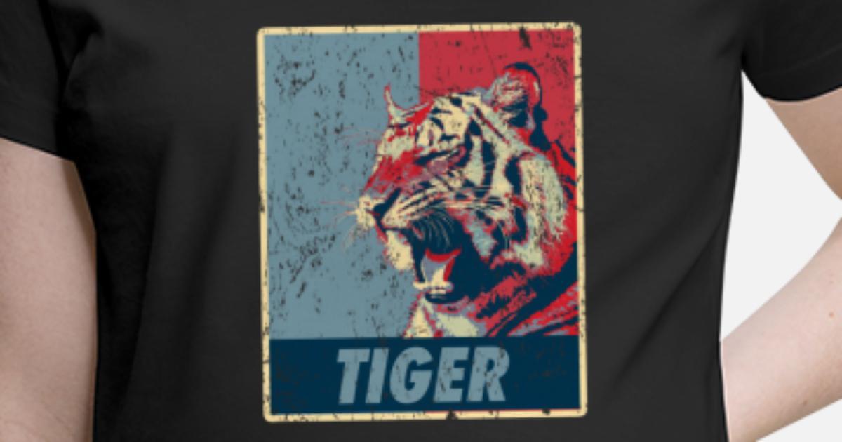 8373a207631bb Tiger Retro Maternity T-Shirt | Spreadshirt