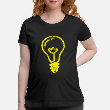Light Bulb 2 - Maternity T-Shirt