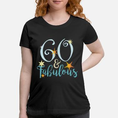 Funny 60th Birthday 60th Birthday 60 and fabulous - Maternity T-Shirt