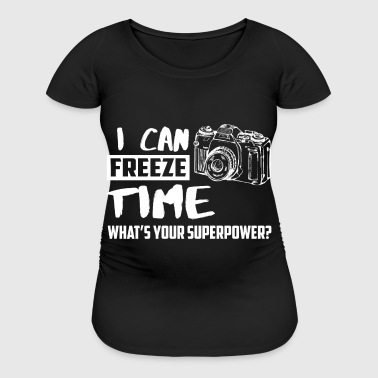 I can freeze time - Women's Maternity T-Shirt