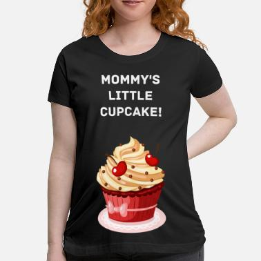 944094af Funny Maternity Spencers cute cuocake.png - Maternity T-Shirt
