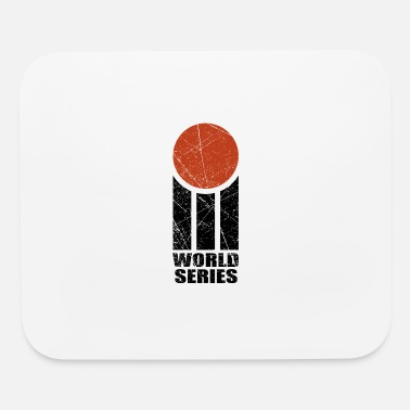 World Series WORLD SERIES CRICKET LOGO RETRO - Mouse Pad