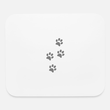 Paw 4 paw prints - Mouse Pad