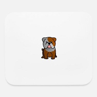 Bulldog Puppy Bulldog Puppy Cartoon - Mouse Pad