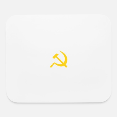 Fps Russia Yellow Hammer & Sickle - Mouse Pad