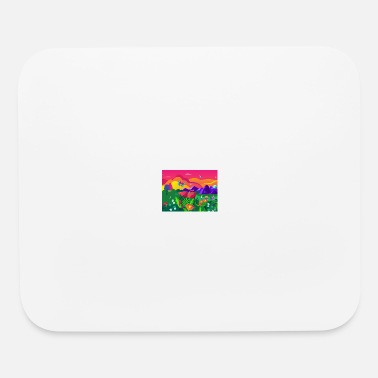 riverflow logo pattern - Mouse Pad