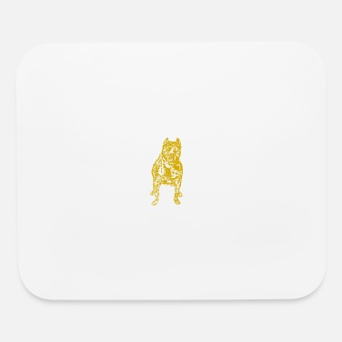The Chive bully gold - Mouse Pad