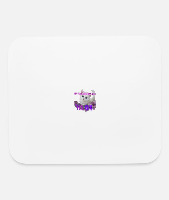 Pattern Mouse Pads - Logo106 - Mouse Pad white