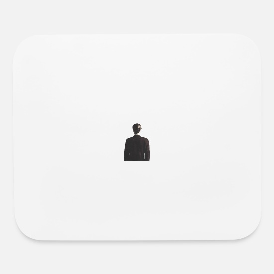 Illustration Mouse Pads - The Mysterious Man - Mouse Pad white