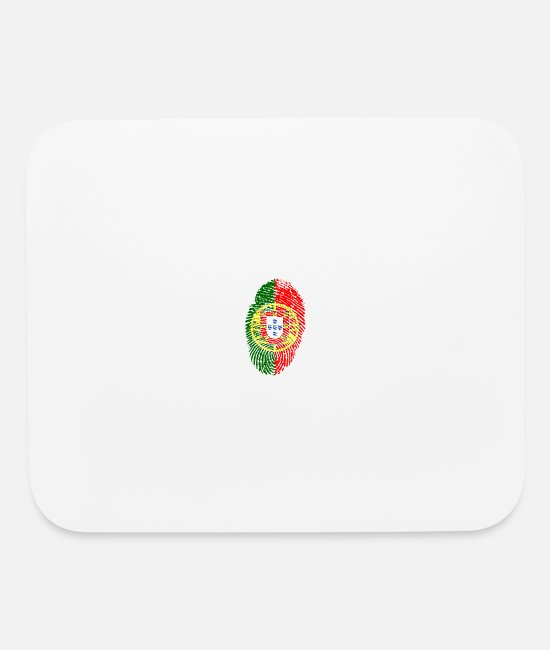 Heat Mouse Pads - portugal - Mouse Pad white