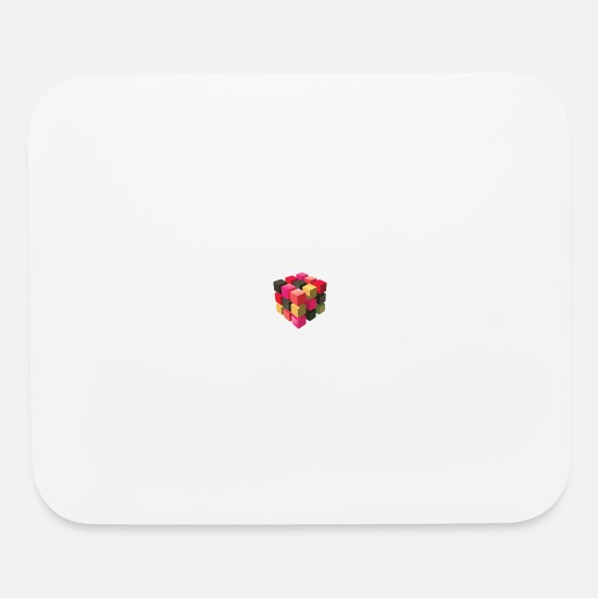 Stylish Mouse Pads - Rubic cube - Mouse Pad white
