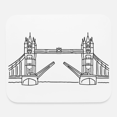 Thames London Tower Bridge - Mouse Pad