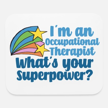 Therapy Super Occupational Therapist - Mouse Pad