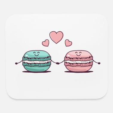 Couples Macarons Couple - Mouse Pad