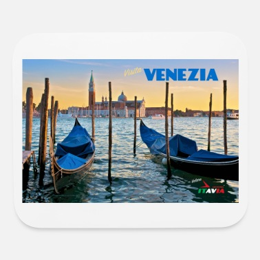 Vintage Venice Travel Poster - Mouse Pad