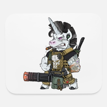 Rpg Soldier Army Military Unicorn Operator Gift Ideas - Mouse Pad