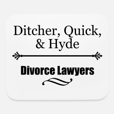 Divorce Lawyers - Mouse Pad