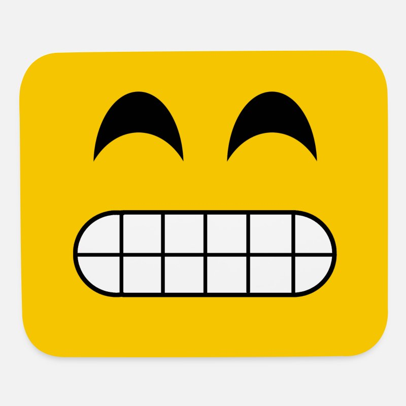 Bestseller Mousepads  - Smiley - Mouse Pad white