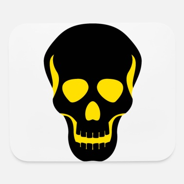 Biological Weapon Icon Skull - Mouse Pad