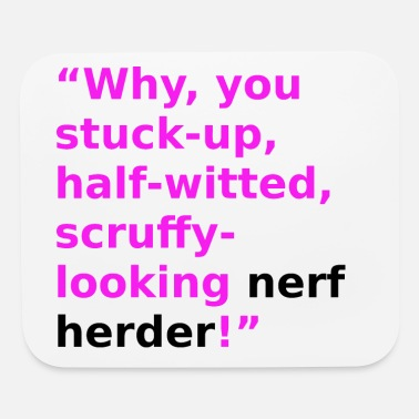 Herder Nerf Herder - Mouse Pad