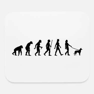 Evolution Woman/Smooth Collie - Mouse Pad