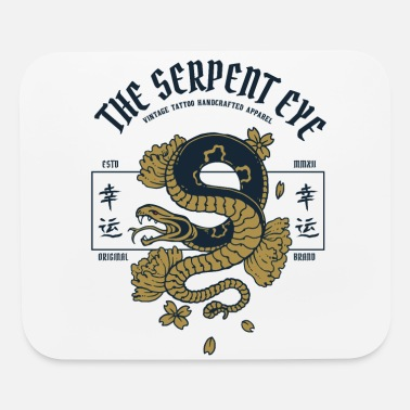 Serpent The Serpent Eye - Mouse Pad
