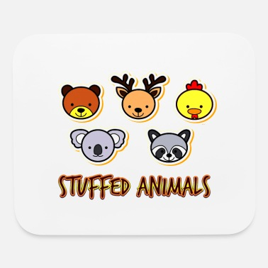 Stuffed Animal Stuffed Funny Animals - Funny Animals Lover Gift - Mouse Pad